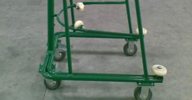 中型脚轮使用案例